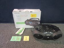 MEMOREX LECTEUR CD PLAYER MP3851BLK RADIO MUSIC PLAYER DISK PORTABLE BOOMBOX