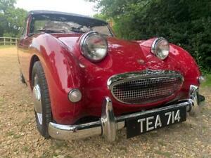 Austin Healey MK1 Frogeye Sprite, 1958, Cherry Red, Superb condition.