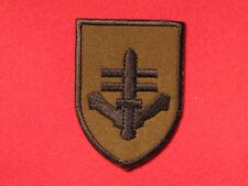 BRITISH ELITE SPECIAL FORCES SBS SPECIAL BOAT SERVICE BADGE OLIVE GREEN NEW