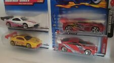 Lot of 4 Hotwheels Toyota Celica Sports Cars Diecast Scale 1:64