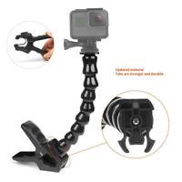 Gooseneck Adjustment Jaws Flexible Clamp Clip Mount Holder for GoPro Hero 7/6/5