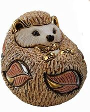 More details for de rosa baby hedgehog figurine new in gift box