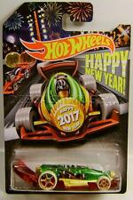 CARBONATOR HAPPY NEW YEAR 2017 BOTTLE CAP OPENER HOT WHEELS HW DIECAST 2016 RARE