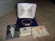 Jackie Kennedy Camrose & Kross Diamond Gold Tone Mesh Bracelet Jewelry Replica