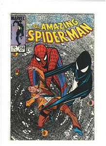 Amazing Spider-man #258 VF+ 8.5 Marvel1984 Discovers Black Alien Symbiote