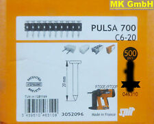 SPIT ACCESSORI: 500 chiodi c6-20 per pulsa 700 + 800 P/E gasnagler, 20mm