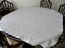 Vintage Irish linen table cloth.