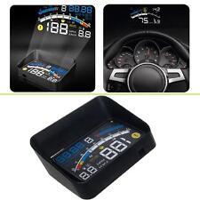 "4E 5.5"" Universal OBD2 II Car GPS HUD Head Up Display Overspeed Warning System"