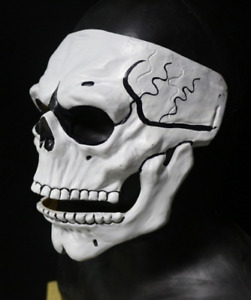 James Bond Day of the Dead Skull Mask Latex Costume Masquerade Cosplay Halloween