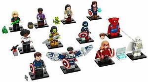 Lego Marvel Studios Series Complete Set of 12 Minifigures 71031 - In Stock!!!