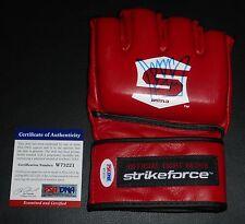 King Mo Muhammed Lawal Signed Official StrikeForce Glove PSA/DNA COA Bellator