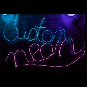 Xmas Novelty home room decoration Gift Present Party game Fun Blue Custom Neon