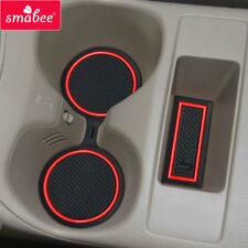 Gate slot pad Car Mat Anti Slip For NISSAN X-TRAIL 2013-2016 Door Pad/Cup