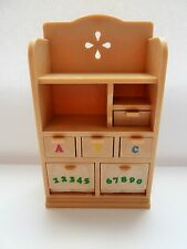 SYLVANIAN FAMILIES SPARES * KIDS BEDROOM DRESSER UNIT * COMBINED P+P NEW  (SY77)