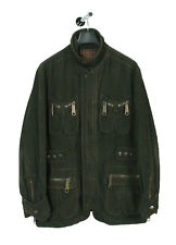 Original Dolce&Gabbana D&G Wool blend Khaki Men Military Corduroy Jacket 38/52