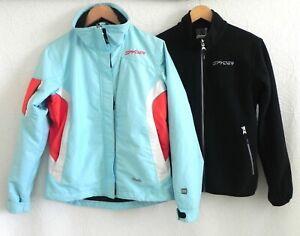 Spyder Xscap 3 in 1 Winter Active Fleece Jacket with Main Jacket Size 6