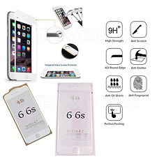 Full iPhone 6 4D Temper Glass Lcd Screen Protector For Apple Iphone 6 6s WHITE