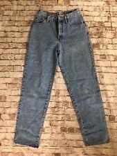 Women's Vintage Express High Rise Straight Leg Jeans 5/6 Blue