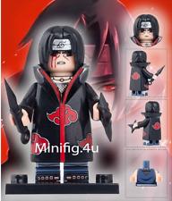 UCHIHA ITACHI Uzumaki Naruto Shippuden Ninja Sasuke Obito Minifigure lego MOC