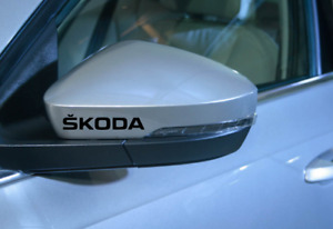 6 x Skoda Octavia Fabia Superb CUSTOM Decals Stickers 18 Colours Free P&P L@@K