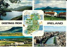 Ireland - Greetings from Ireland - Multiview - Posted 1982