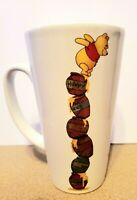 Disney Winnie The Pooh Eight Honey Pot And Piglet 14oz  Ceramic Tall Mug New