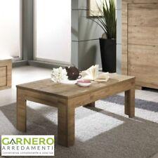 Tavolino basso MILANO per sala/soggiorno, rovere miele, pratico, made in Italy