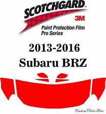 3M Scotchgard Paint Protection Film Pro Series Fits 2014 2015 2016 Subaru BRZ