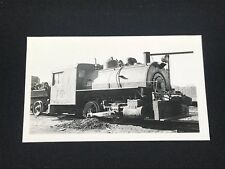 Antique Greater Winnipeg Water District Railroad Train Locomotive No. 1 Photo