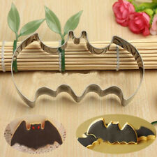 Halloween Fondant Cake Cookies Biscuit Cutter Mold Big Bat Batman Vampire Mould