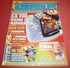Magazine Consoles MAX [n°22 Mai 01] GBA PS 2 N64 One Pokémon Or et Argent *JRF