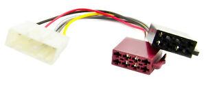 Autoradio Kabel Adapterkabel passend für Renault Twingo III ab 2015 auf ISO Norm