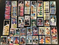 1980s Detroit Tigers BASEBALL 100 Card Lot, Kirk Gibson, Trammel, Whitaker C257