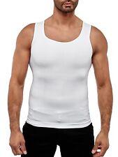 Herren Bauchweg Korsett Bodyshaper Mieder Figurformer Slimming T-Shirt Unterhemd