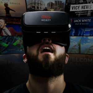 Infinity VR (Virtual Reality) Headset - Works with mobile phones / smartphones