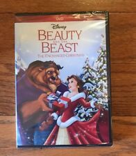 Disney Beauty And The Beast The Enchanted Christmas Movie In DVD. New!