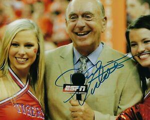 GFA NCAA ESPN Basketball Announcer DICK VITALE Signed 8x10 Photo D3 COA