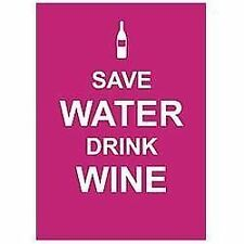 NEW - Save Water, Drink Wine by Summersdale