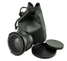 0.35x Fisheye Wide Angle 52mm Lens for Nikon D5200 D3100 D3000 D90 D60 D40
