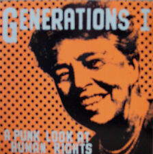 Generations A Punk Look At Human Rights / Red Aunts Pennywise Lagwagon Green Day