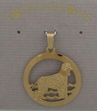 Irish Water Spaniel Jewelry Pendant by Touchstone