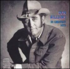 20 Greatest Hits - Don Williams (1987, CD NEUF)
