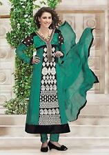 Indiano BOLLYWOOD Designer Anarkali Salwar Kameez etnica Wear Suit