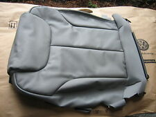 NEW GENUINE VW PASSAT LEFT FRONT GREY SEAT BASE COVER LEATHER 3C0881405EFZRD