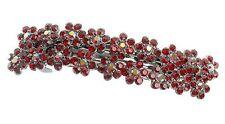 Debenhams Rouge Nouveau Fleur Bourgeons Pince à Cheveux Barrette Barrette W/