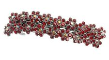 Debenhams Rojo Nouveau Flor Brotes De Pelo Clip Deslizante Pasador Con/