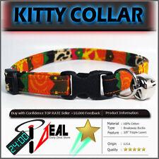 Breakaway SAFETY CAT Collar * WILD SAFARI RESTART *
