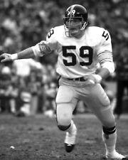 1970s Pittsburgh Steelers JACK HAM Glossy 8x10 Photo NFL Football Print Poster