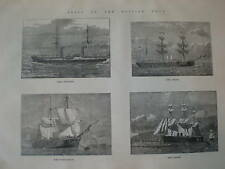 Ships of the British Navy 1884 prints