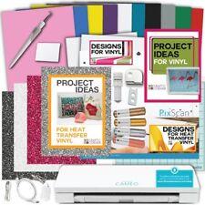 CAMEO V3 BUNDLE Oracal Vinyl Siser Glitter HTV Tools PixScan Mat Pens Designs